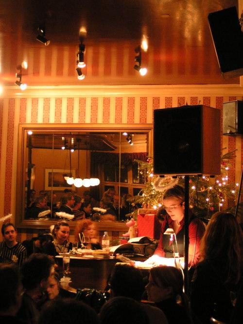 Weihnachslesung 2007 Anne