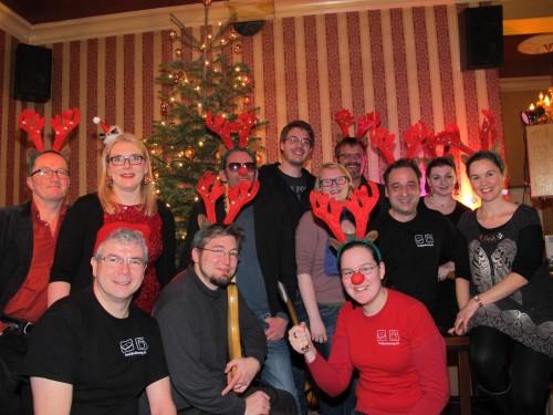 Weihnachtlesung im Lenz 2013