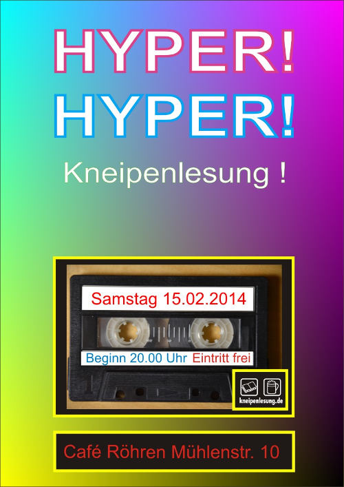 HyperHyper Plakat