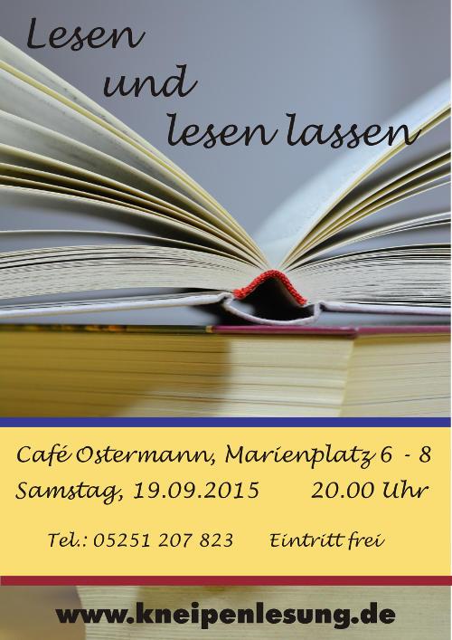 Plakat lesen