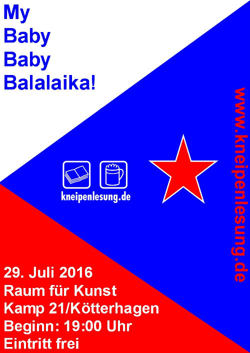 Plakat My Baby Baby Balalaika!