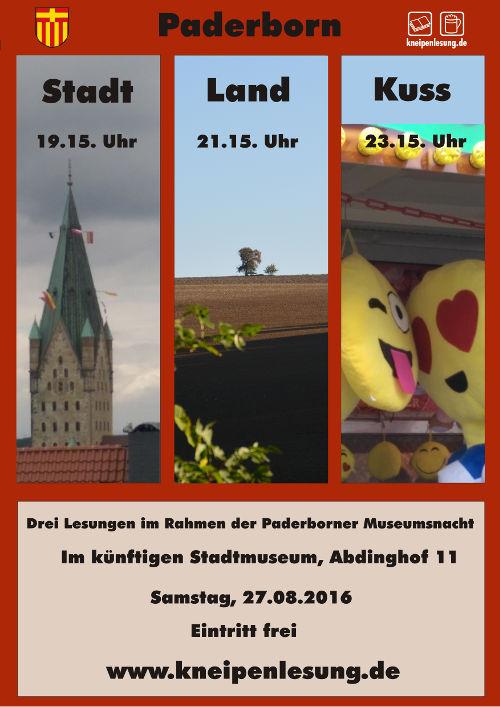 Paderborn: Stadt Land Kuss