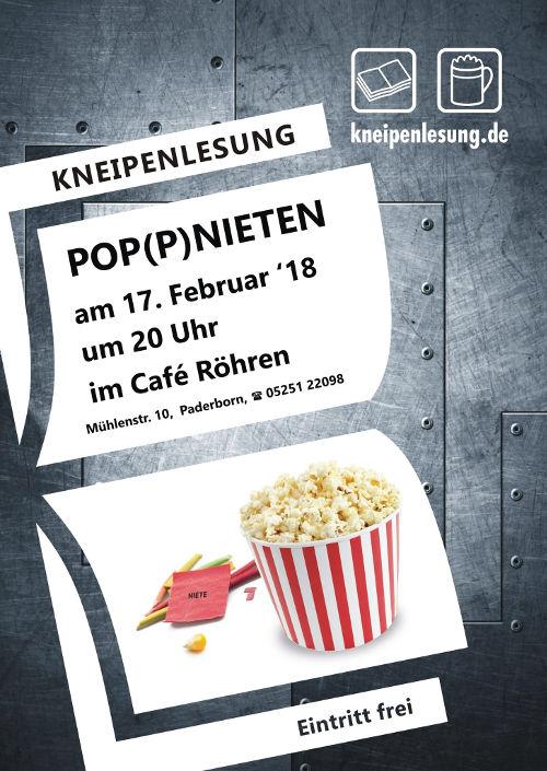 Plakat POP(P)-Nieten