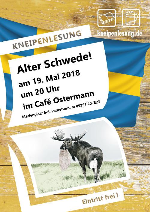 Plakat Alter Schwede