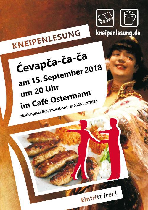 Plakat Ćevapča-ča-ča