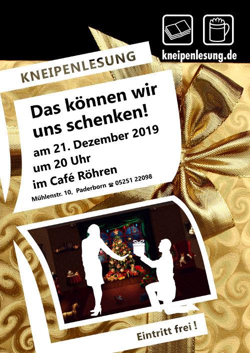 Plakat Weihnacht 2019