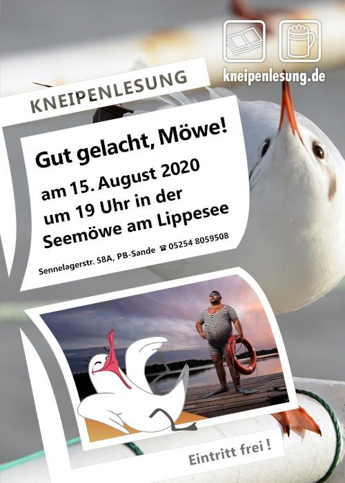 Plakat zu Gut gelacht, Möwe!