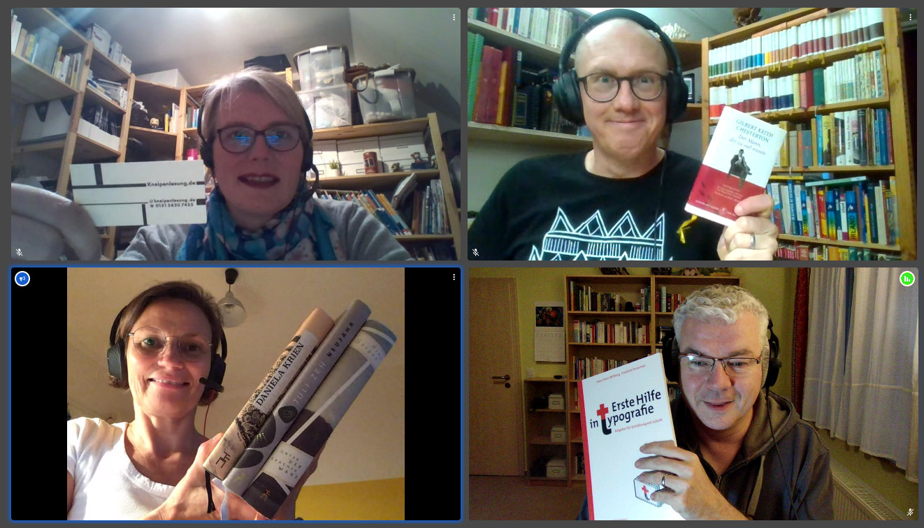 Kneipenlesung der Podcast am 13.9.2020
