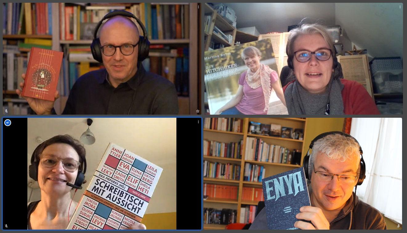 Kneipenlesung der Podcast am 6.12.2020
