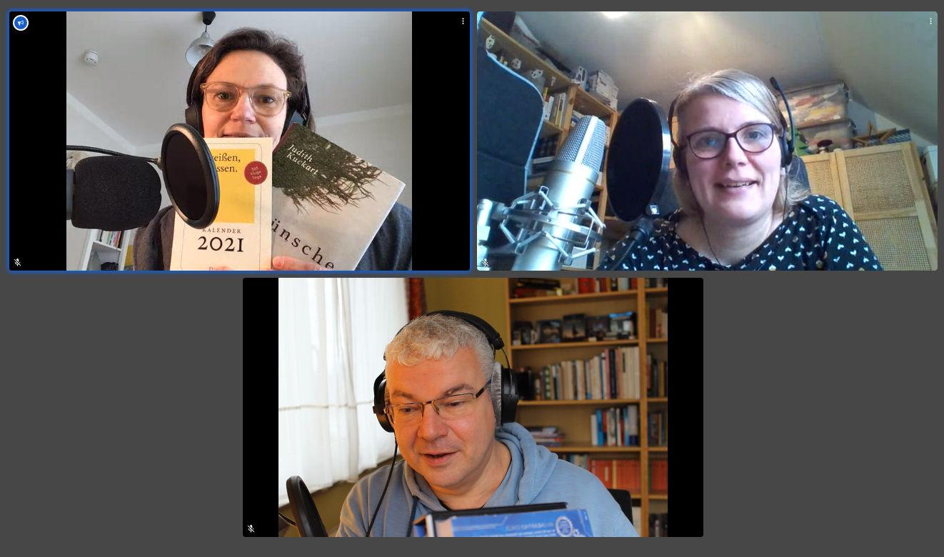 Kneipenlesung der Podcast am 3.1.2021